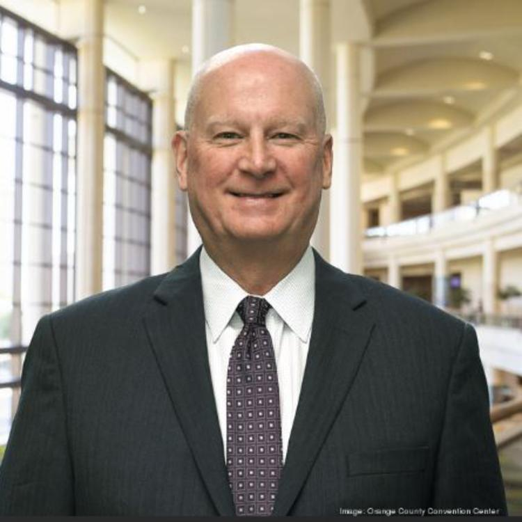 Headshot for 2021 Visit Orlando Board of Director Mark Tester