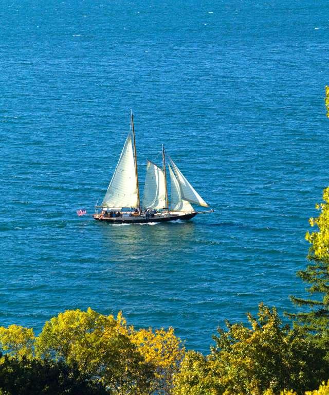 True Love from 1956 High Society movie sailing on Seneca Lake