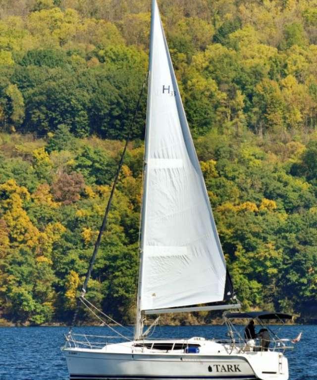 Sailboat in Fall