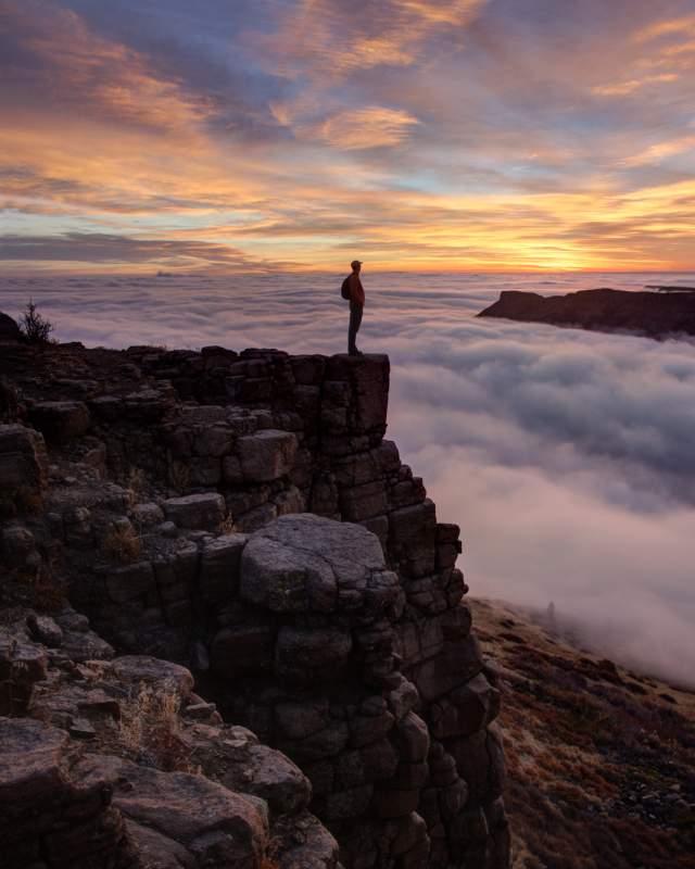 Sunrise Hike North Table Mountain