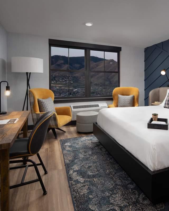 The Eddy Hotel King Room Interior