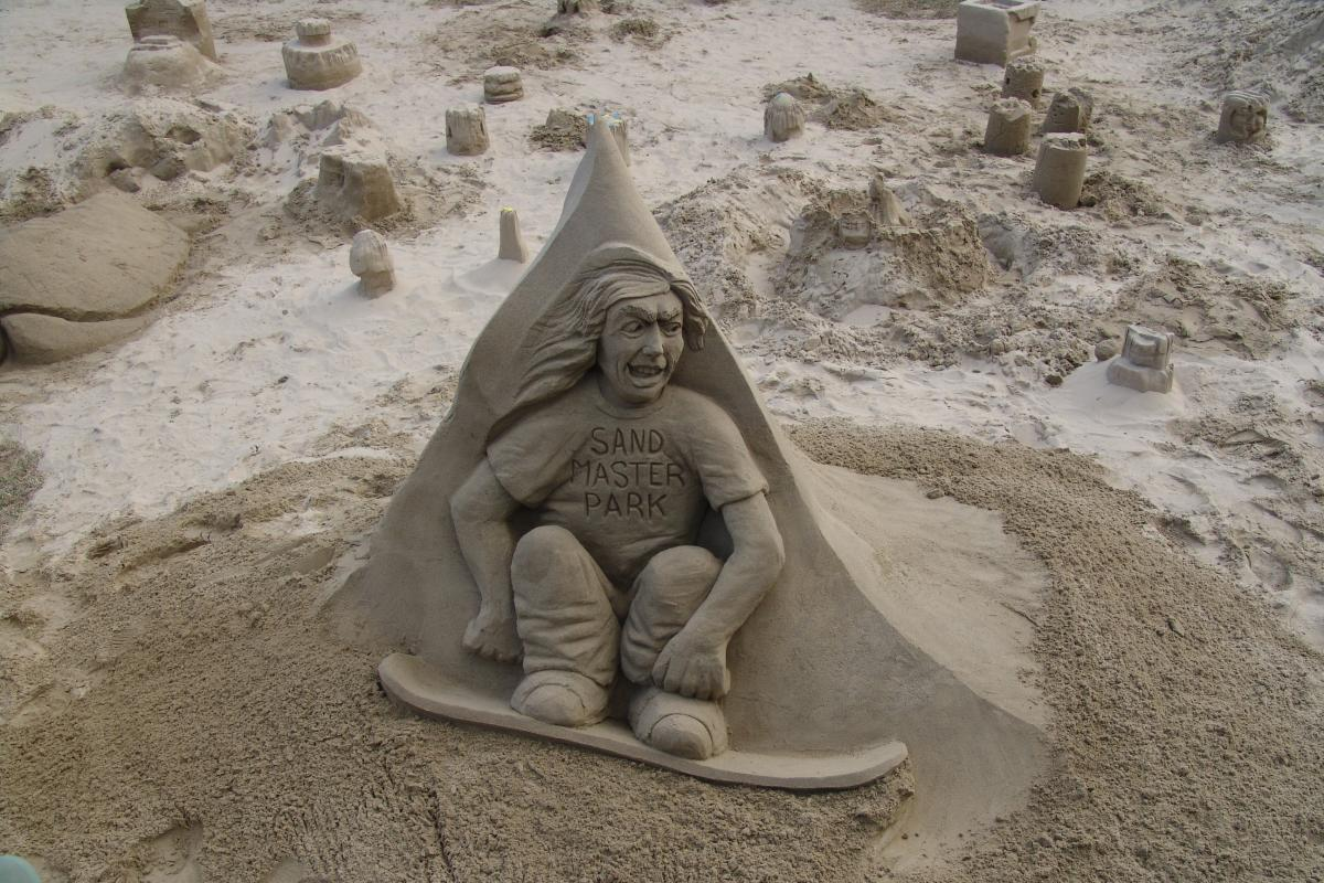 Sandsculpting in Florence