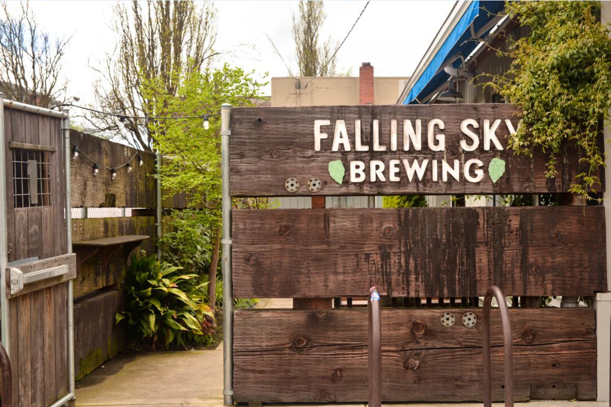 Falling Sky Brewpub by Melanie Griffin