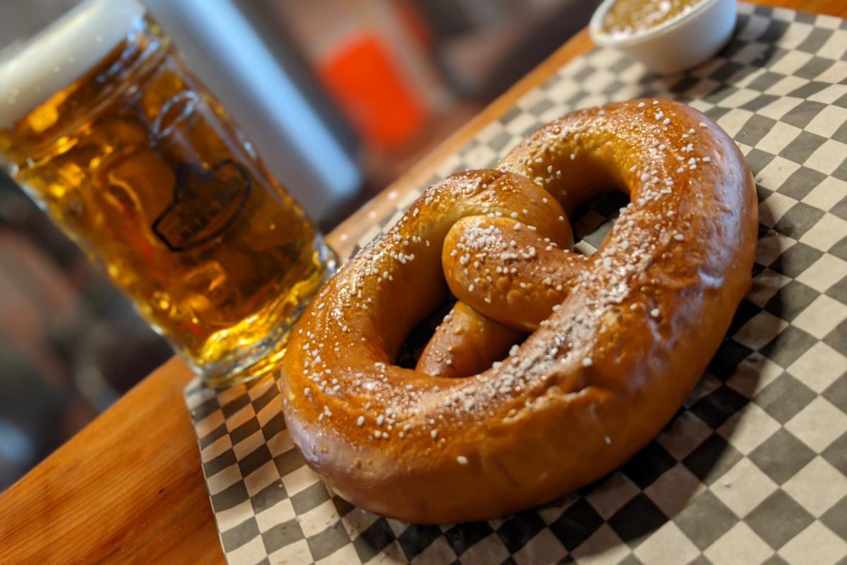Covered Bridge Brewing Group Oktoberfest Pretzel