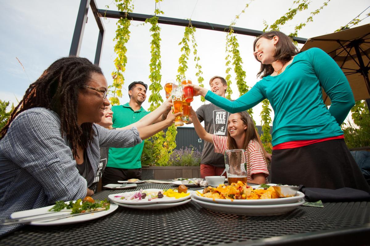 Hop Valley Brewing Eugene  courtesy of Eugene, Cascades & Coast