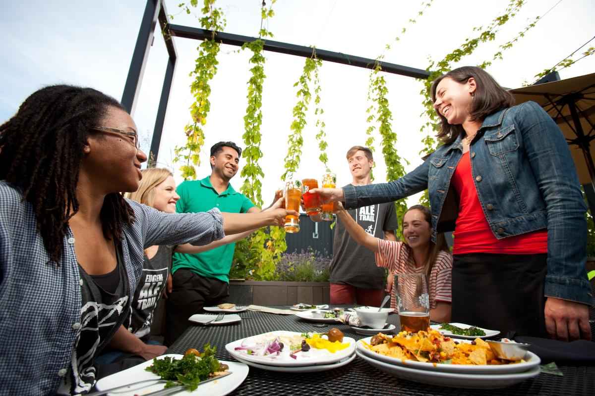 Eugene Ale Trail at Hop Valley Brewing Company by Eugene, Cascades & Coast