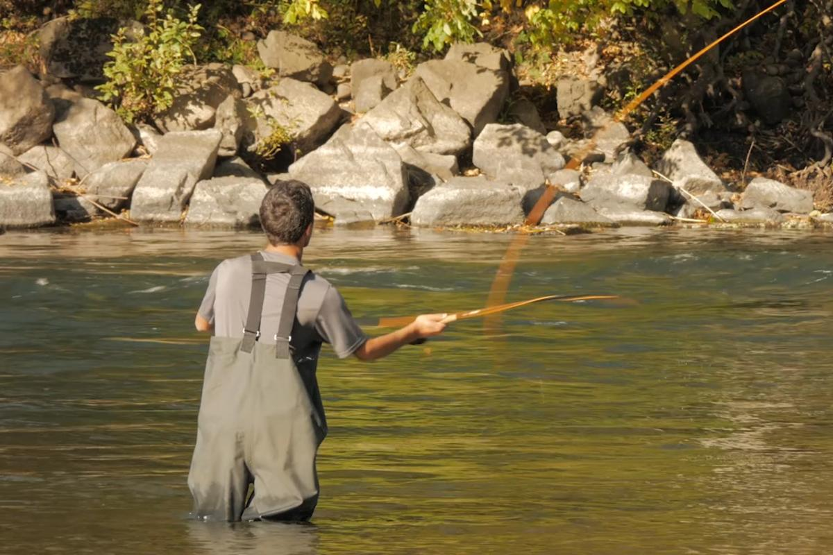 Fly Fishing on McKenzie River