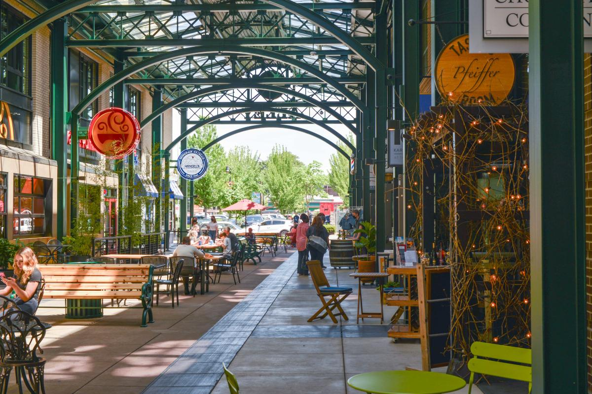 5th Street Public Market Alley by Melanie Griffin