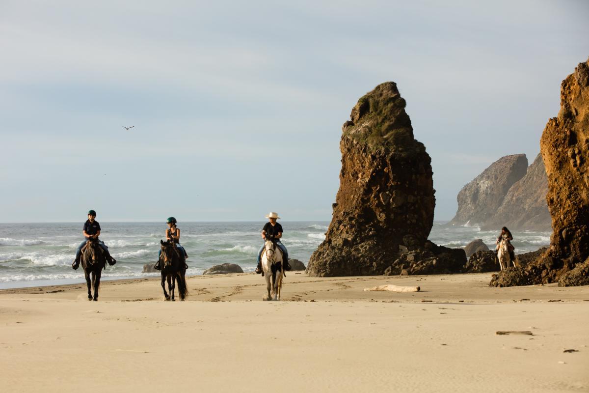 Florence Horseback Riding by Tyler Roemer