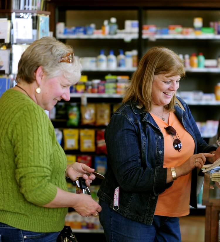 Ladies Shopping at Modern Apothecary