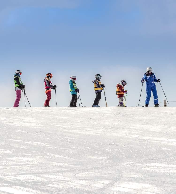 Snow Day Skiing at Wilmot Mountain in Kenosha County WI
