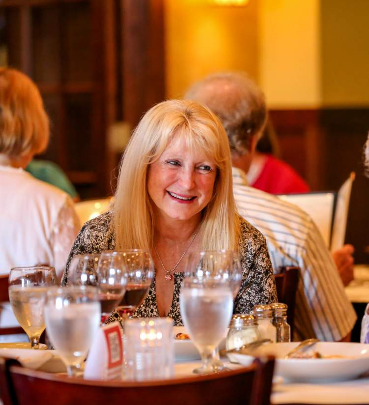 Tuscany Bistro women dining