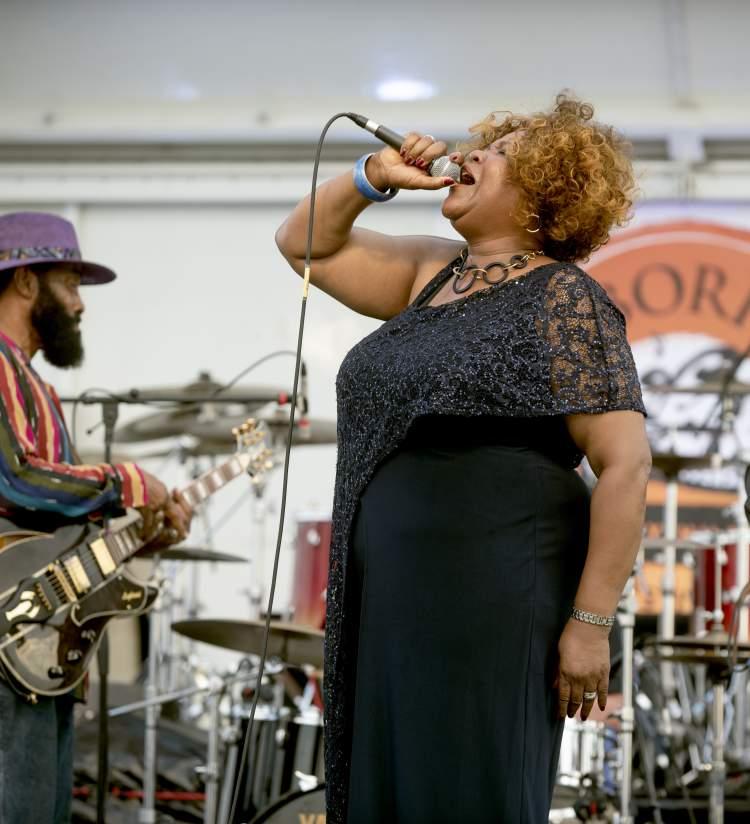 Harbor Park Jazz singer