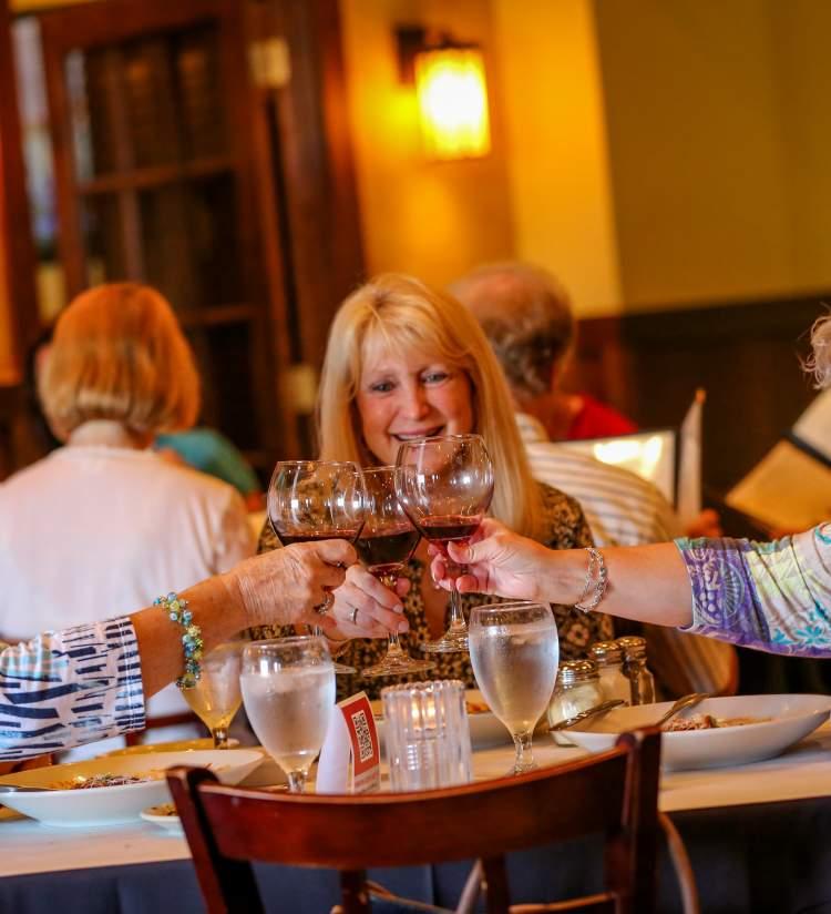 Ladies dining at Tuscany
