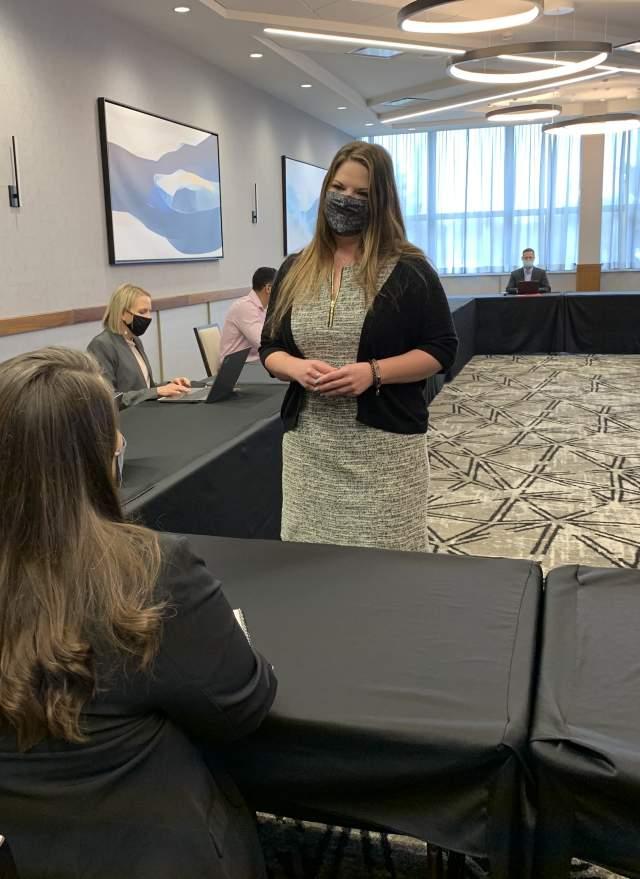 Safe Meeting Presenter at Crowne Plaza Hotel