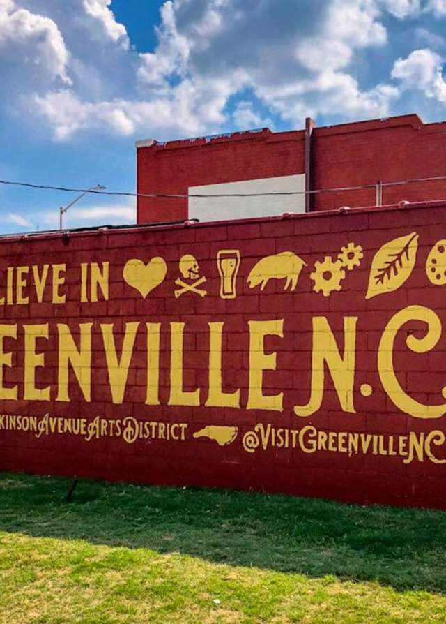 Believe In Greenville Wall Mural
