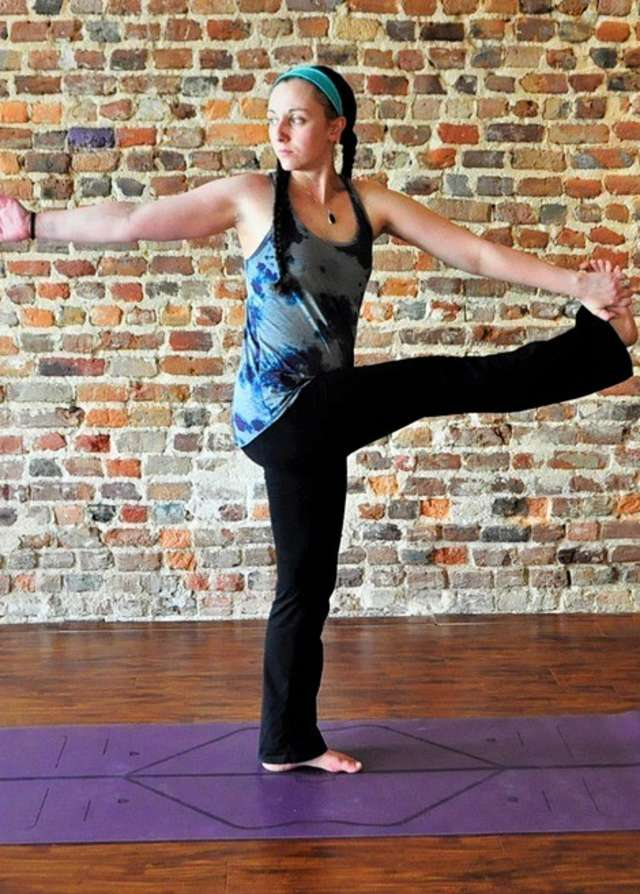 Purple Blossom Yoga