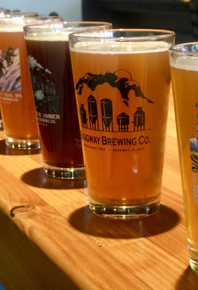 SBC beer on bar