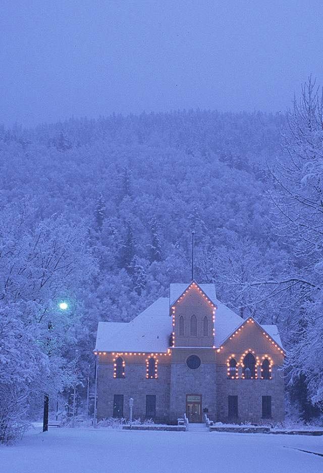 City Hall After a Snow Storm