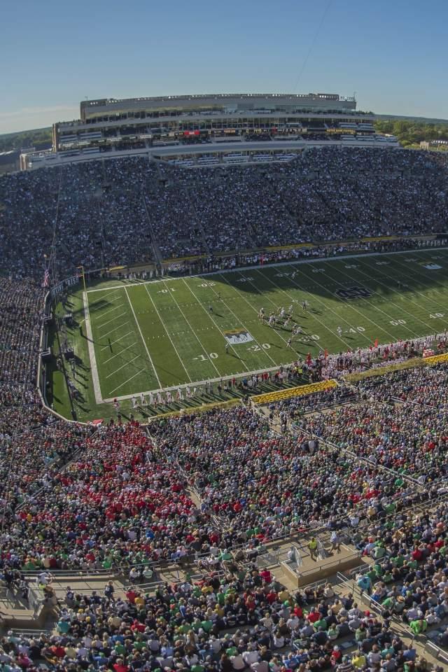 Wide Stadium Shot