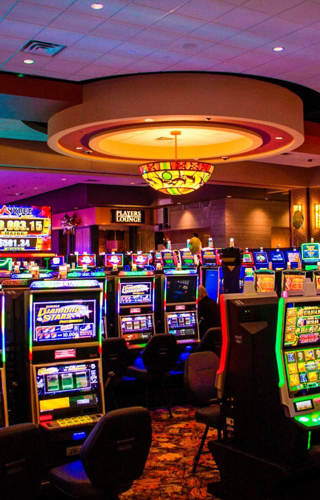 Slot machines at Four Winds Casino in South Bend