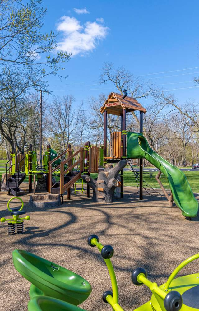 Pinhook Park's playground in South Bend