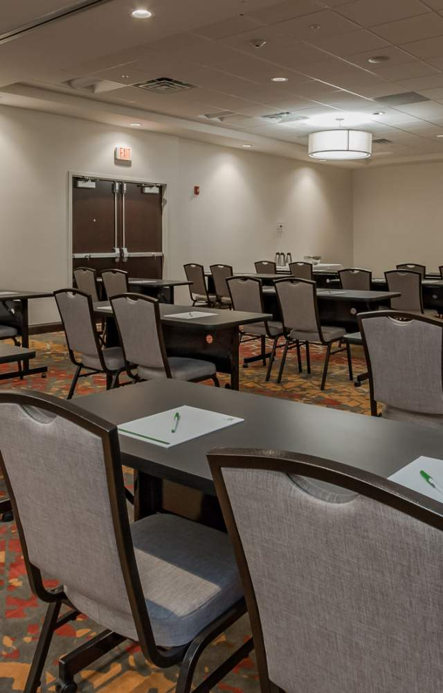 A meeting spaces at the Holiday Inn Conference Center in Mishawaka