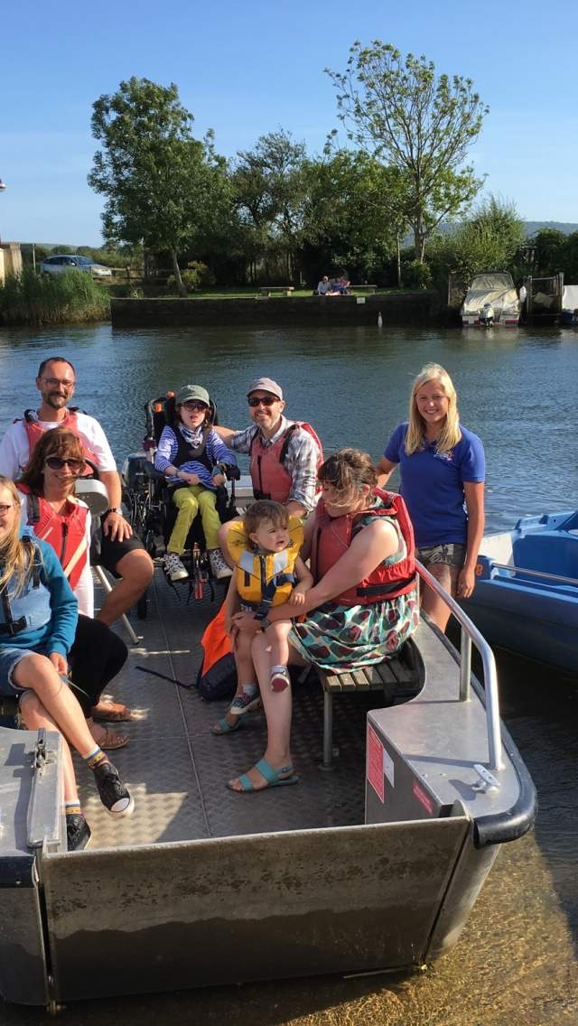 Wareham Boat Hire has a boat which is suitable for wheelchair users