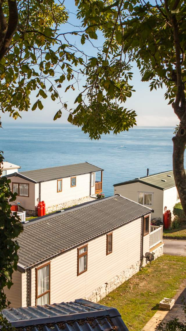 Stay at Cove holiday Park for outstanding sea views