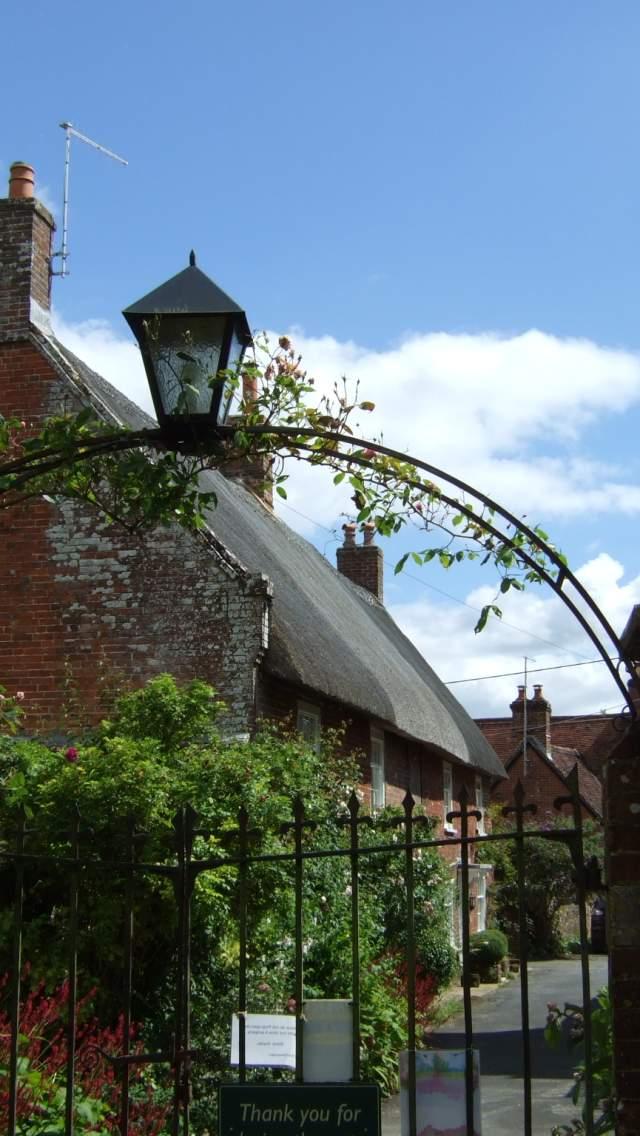 Cranborne village in Dorset