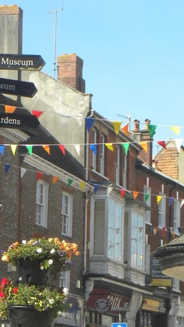 Blandford town centre
