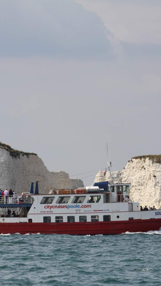 Boat trip to Old Harry Rocks with City Cruises
