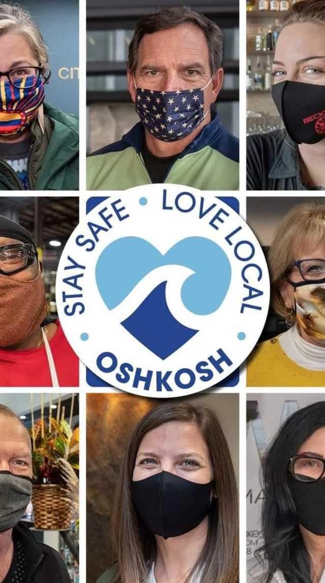 Stay Safe, Love Local Oshkosh