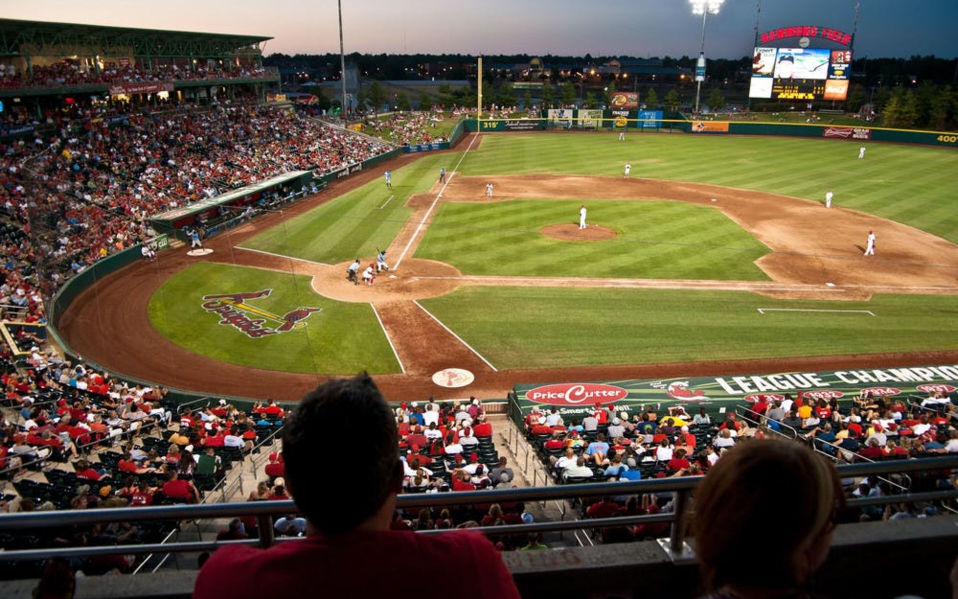 Hammons Field Inside Baseball Park