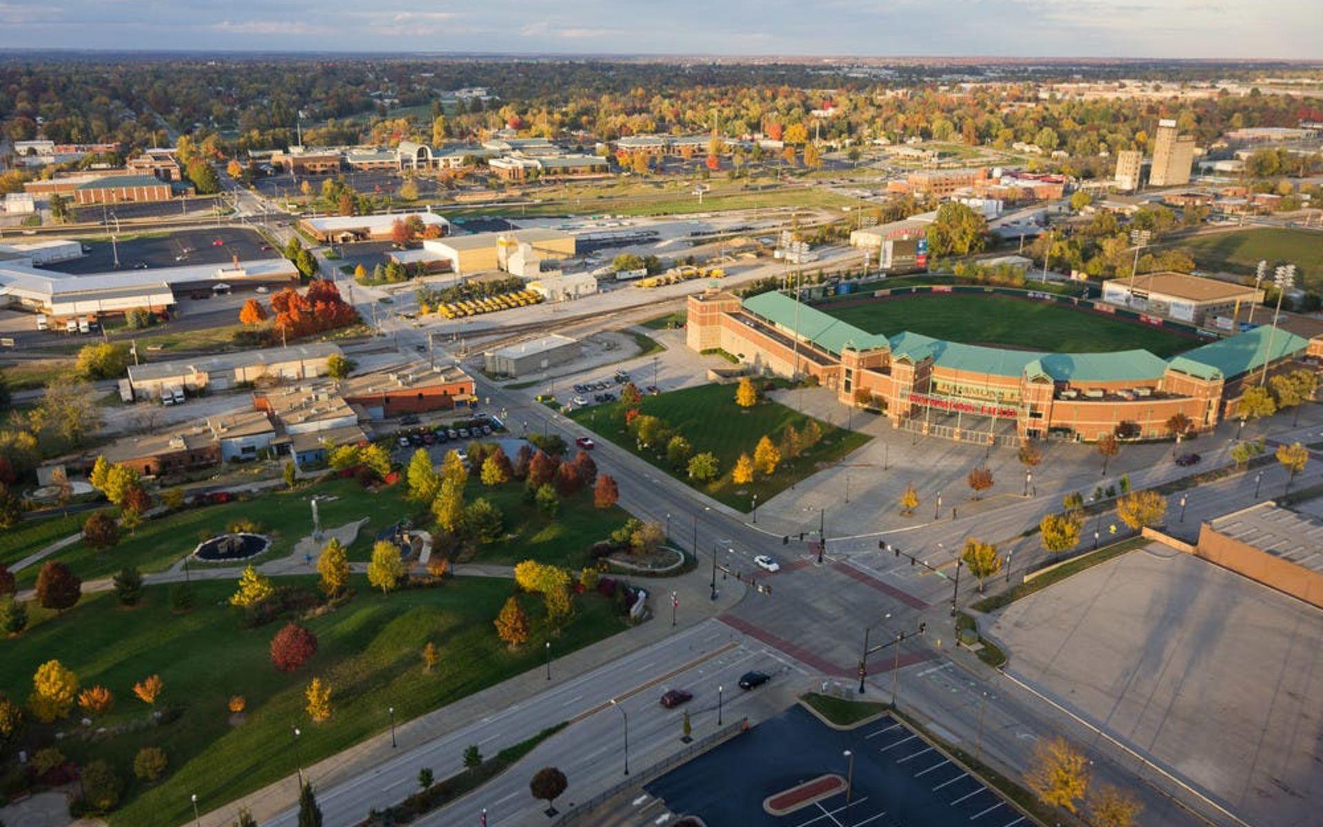 Springfield Skyline with Hammons Field
