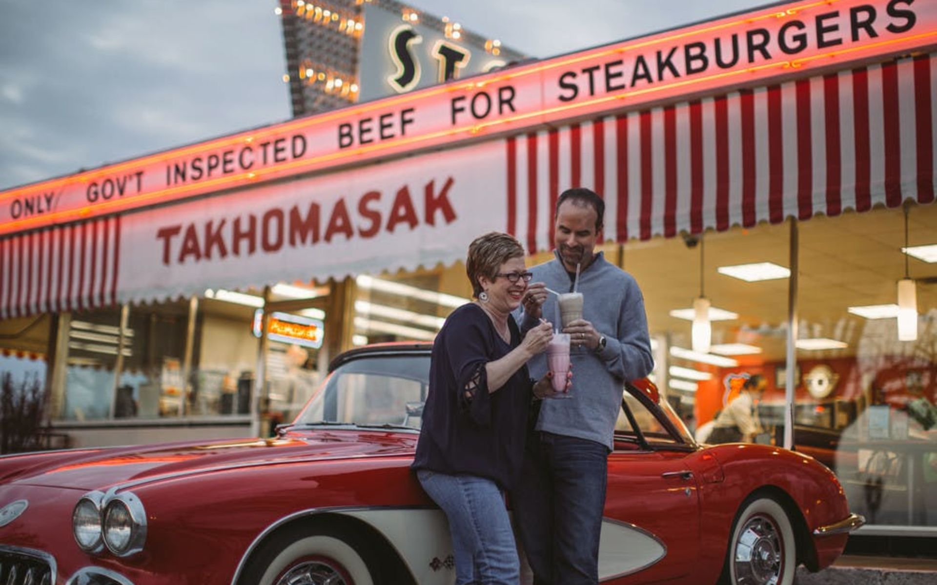 Steak and Shake on Historic Route 66