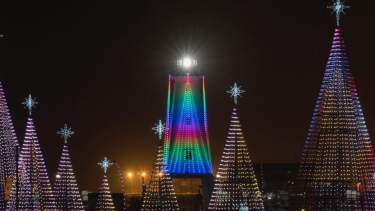 Gulfport Harbor Lights Winter Festival header image