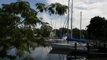 Harbor in Pascagoula