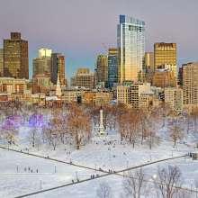 Boston Common Winter