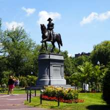 Washington Statue Public Garden