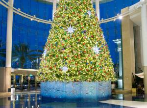 Mail at Millenia Christmas tree