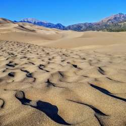 Great Sand Dunes NP waves wide