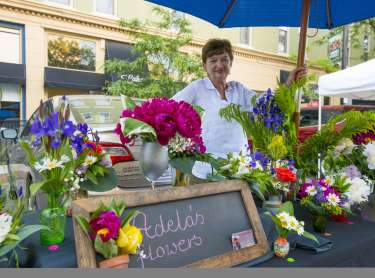 Adela's Flowers at DT Farmers Market