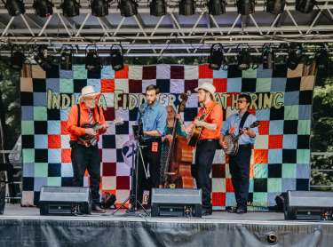 Fiddler's gathering stage 2019