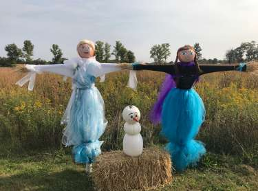 Trail of Scarecrows at Prophetstown State Park