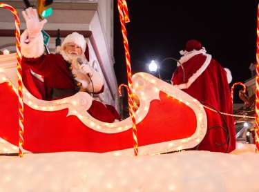 Santa at the Parade