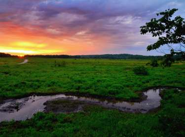 Prophetstown State Park Sunrise