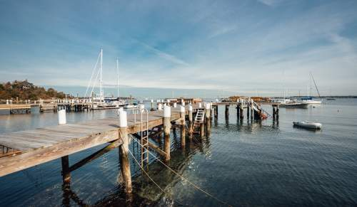 Jamestown RI Pier