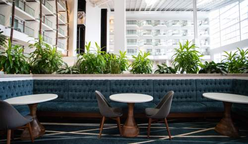 Newport Marriott Lobby