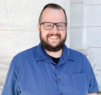 Headshot of John Scmidt Creatvie Producer for Travel Wisconsin